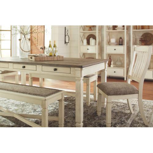 Signature Design By Ashley - Bolanburg Rectangular Dining Room Table Antique White