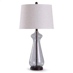 Clear Seed Table Lamp