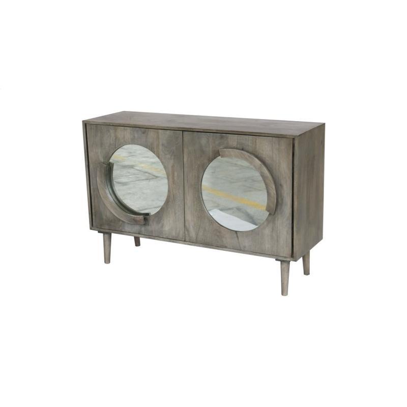 Hillcrest 2 Door Mango Wood Cabinet