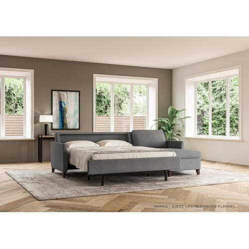 Harris Elegant Sleeper Sofa - American Leather