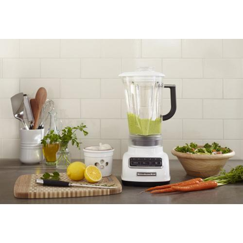 5-Speed Diamond Blender - White