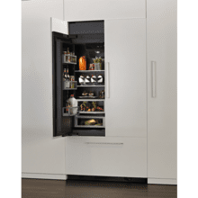 Armoire-Style Refrigerator Door Panel