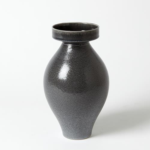 Nova Vase-Reactive Grey-Tall