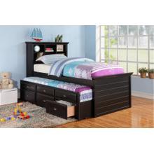 Ferne Twin Bed, Black