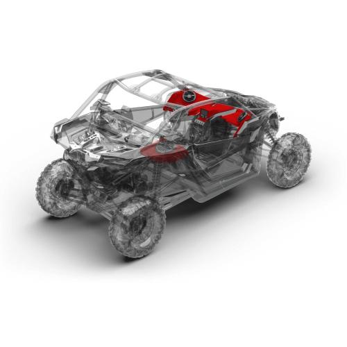 Rockford Fosgate - 400 watt stereo, front speaker, and subwoofer kit for 2017-2018 Maverick X3 models