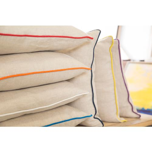 """Surya - Linen Piped LP-007 22""""H x 22""""W"""