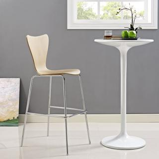 Ernie Wood Bar Stool in Natural
