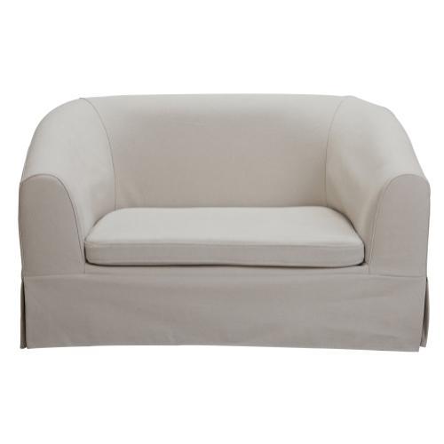 Tov Furniture - Molly Beige Linen Pet Bed