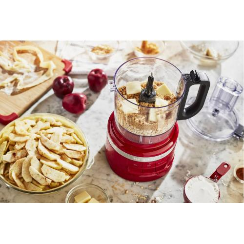 7 Cup Food Processor Plus - Empire Red