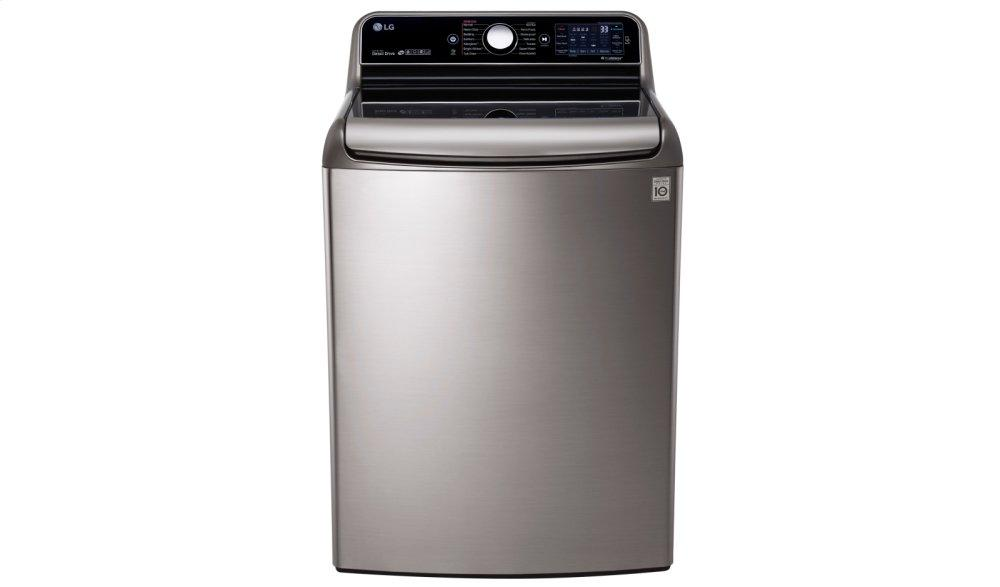 LG Appliances5.7 Cu.Ft. Mega Capacity Top Load Washer With Turbowash® Technology