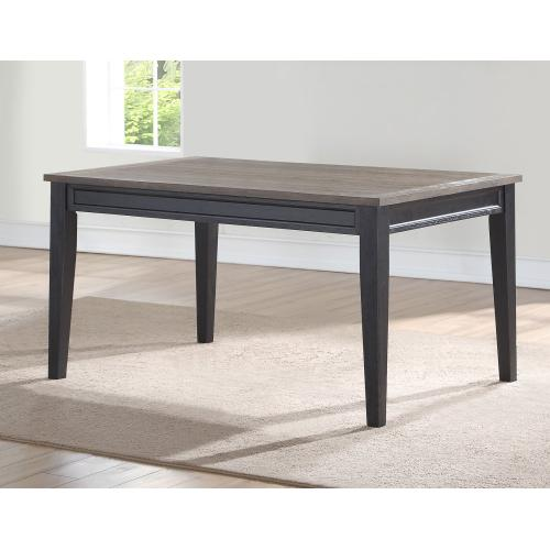 Raven Noir 59.5 Inch Dining Table