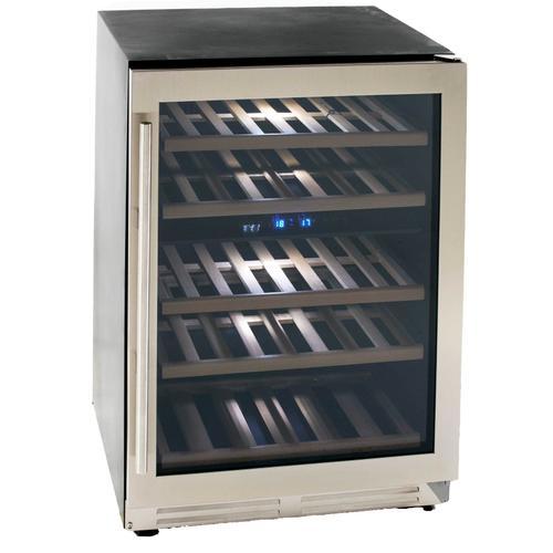 Avanti - 43 Bottle DESIGNER Series Dual-Zone Wine Cooler