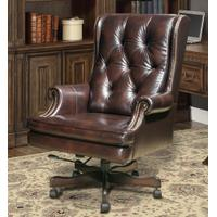 DC#112-HA - DESK CHAIR Leather Desk Chair Product Image