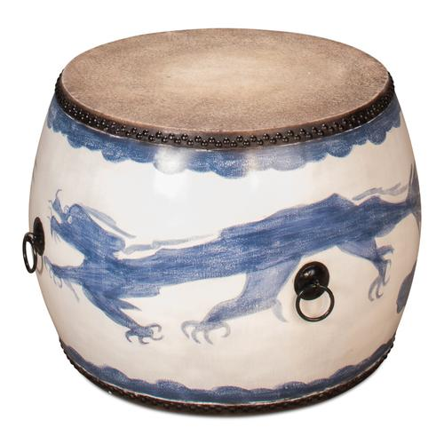 Blue Dragon Side Table