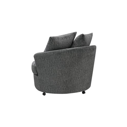 Big Chill Pewter Swivel Chair, AC4438