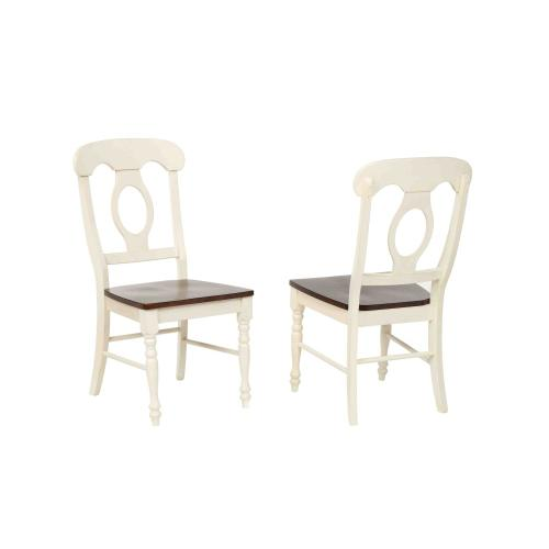 Butterfly Leaf Dining Set w/Napoleon Chairs (5 Piece)