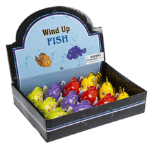 Wind Up Toys - Fish (12 pc. ppk.)