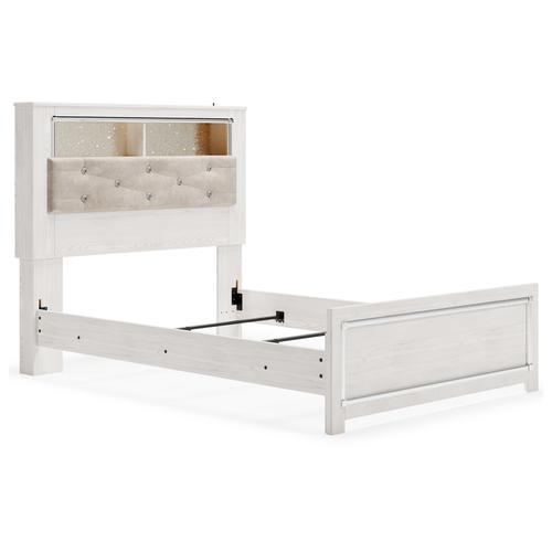 Altyra Full Panel Bookcase Bed