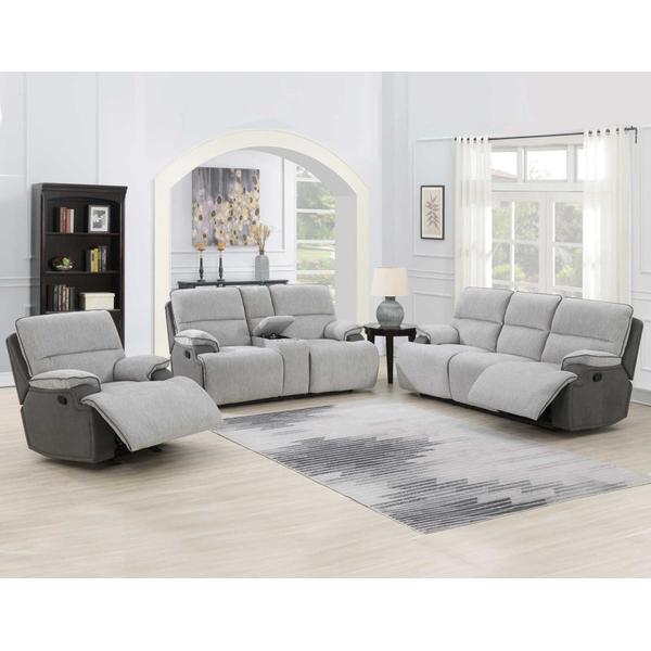 Cyprus 3-Piece Manual Motion Set (Sofa, Loveseat & Chair)