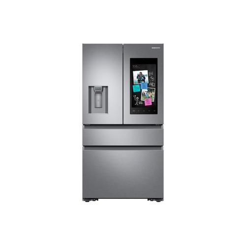 22 cu. ft. Family Hub™ Counter Depth 4-Door French Door Refrigerator in Stainless Steel