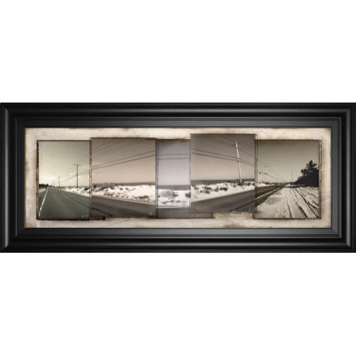 """The Old Coast Road"" By Noah Bay Framed Print Wall Art"