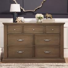 See Details - Derby Brown Durham 7-Drawer Dresser