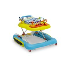 4-in-1 Discover & Play Musical Walker - Blue/Green (2163)