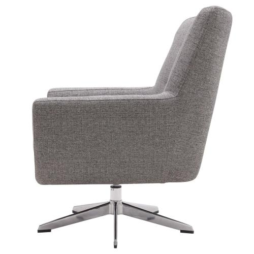 9900055331 In By New Pacific Direct In Stillwater Ok Astoria Kd Fabric Swivel Accent Chair Century Gray