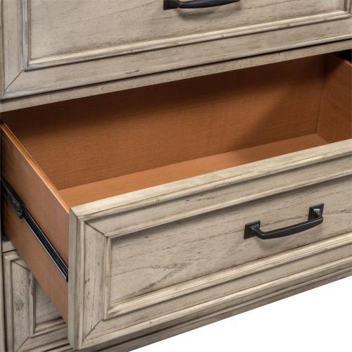 Queen Panel Bed, Dresser & Mirror, N/S