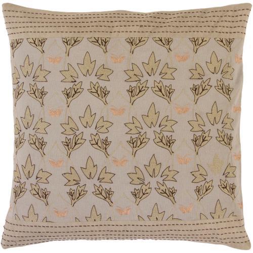 "Surya - Decorative Pillows SI-2013 18""H x 18""W"
