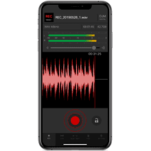 DJ mix recording app