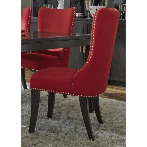 Liberty Furniture Industries - Upholstered Side Chair -Red (RTA)