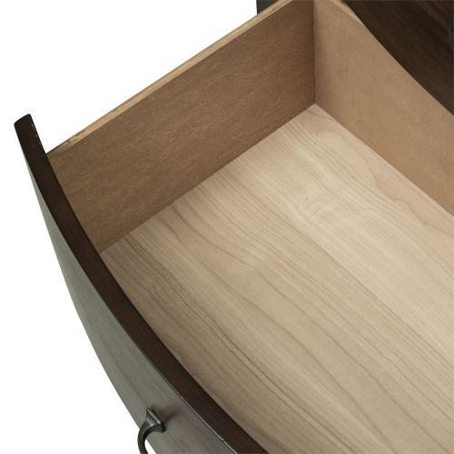 Queen Panel Storage Bed, Dresser & Mirror, Night Stand