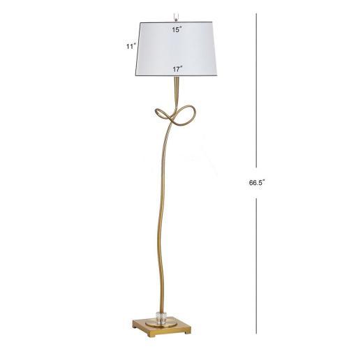 Liana 66.5-INCH H Floor Lamp - Gold