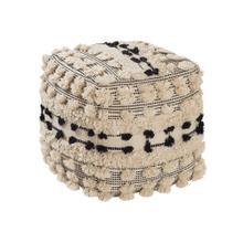 Balhi Cotton Pouf