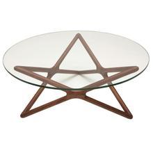 Star Coffee Table  Walnut