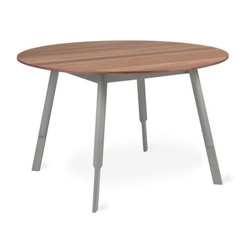 Bracket Dining Table - Round Walnut