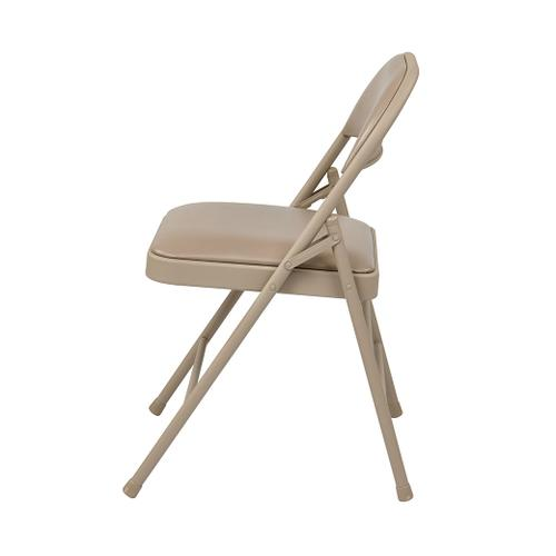 Office Star - Folding Chair With Vinyl Seat and Back