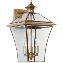 Virginia Triple Light Sconce - Brass