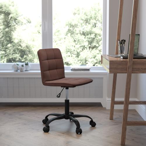Gallery - Sorrento Home and Office Task Chair in Brown Fabric