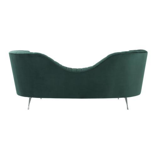 Tov Furniture - Eva Forest Green Velvet Sofa