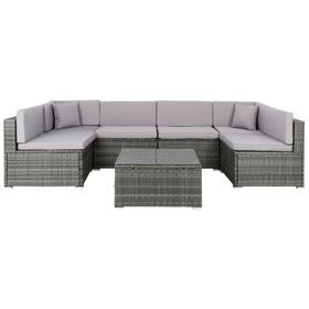 Diona Living Set - Grey / Grey