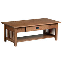 See Details - Mission Large Coffee Table