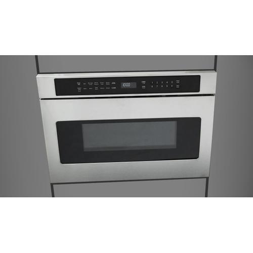 "Fulgor Milano - 24"" Drawer Microwave - Stainless Steel"