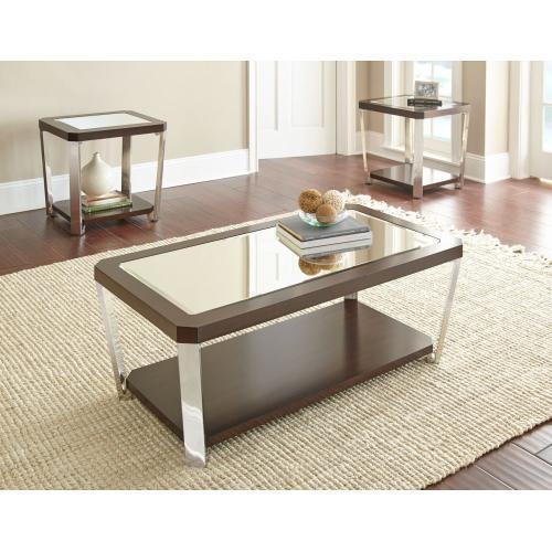 Gallery - Truman 3-Piece Set(Cocktail & 2 End Tables)