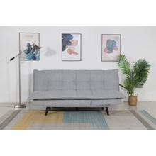 8370 LIGHT GRAY Pillow Top Multi-Functional Futon Sofa Bed