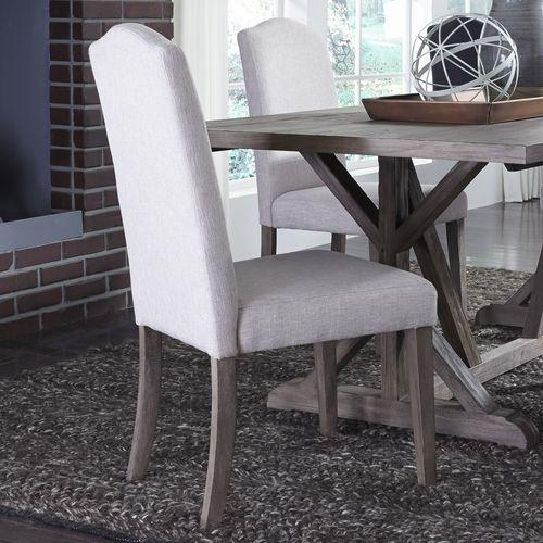 Gallery - Upholstered Side Chair - Tan (RTA)