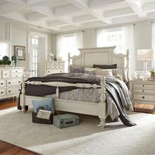 View Product - King Poster Bed, Dresser & Mirror, Chest, Night Stand