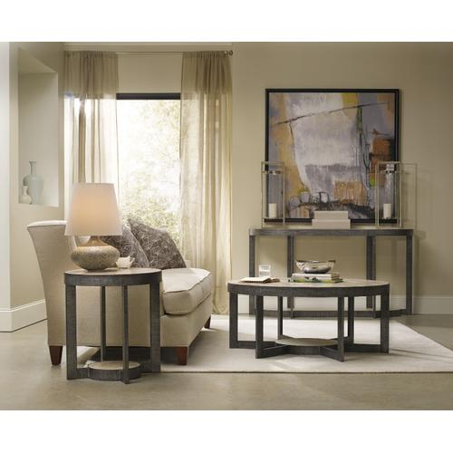 Mill Valley Round End Table