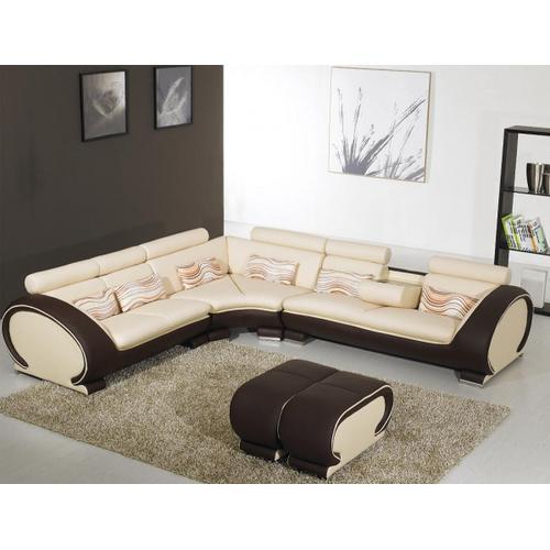 Divani Casa 816B - Modern Leather Sectional Sofa